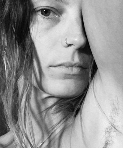 Models Are Making Armpit Hair Mainstream Beauty Pinterest Hair