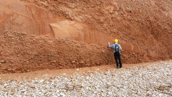 Budleigh Salterton pebble beds