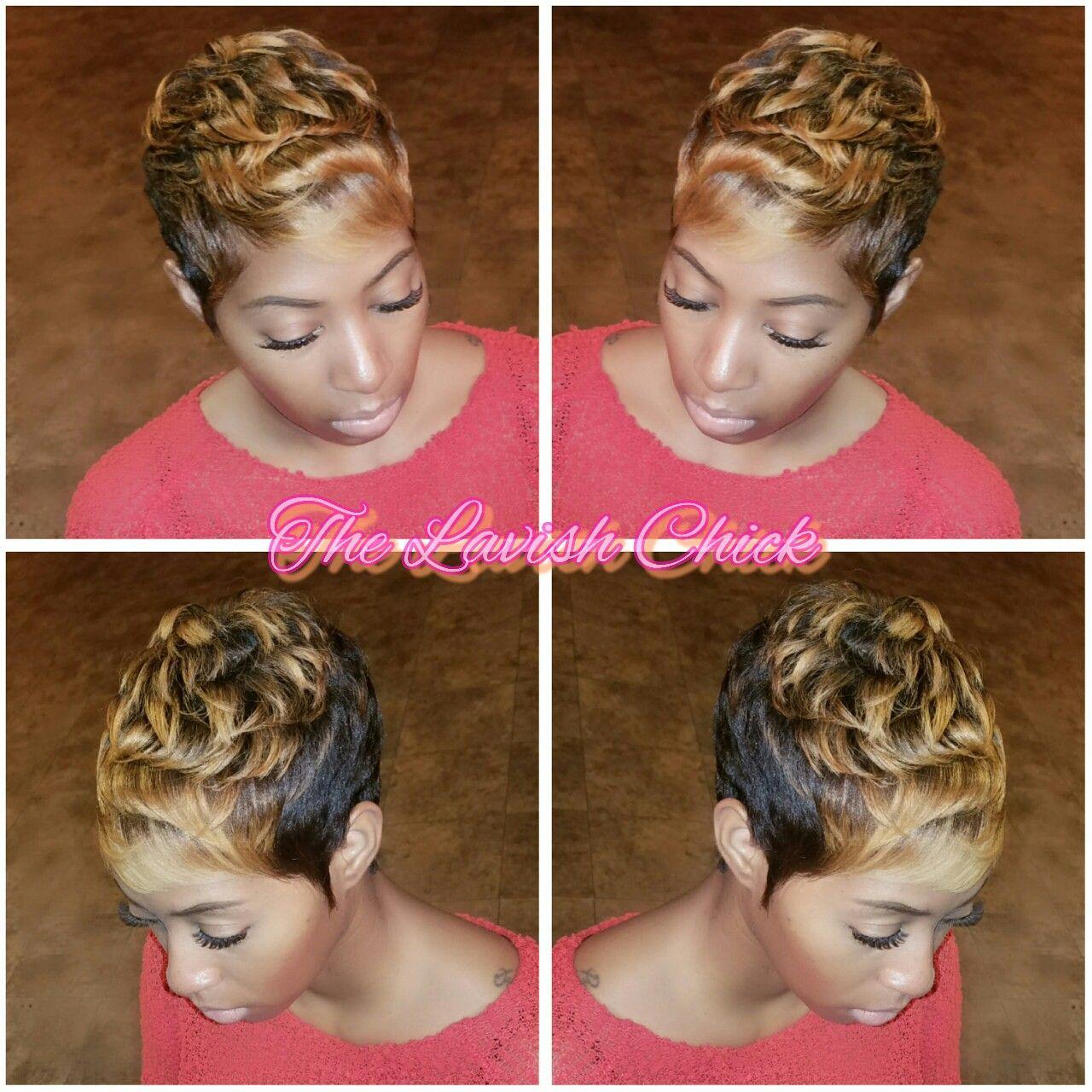 Kiesha Brown Reflections Style Studio THE LAVISH CHICK ...
