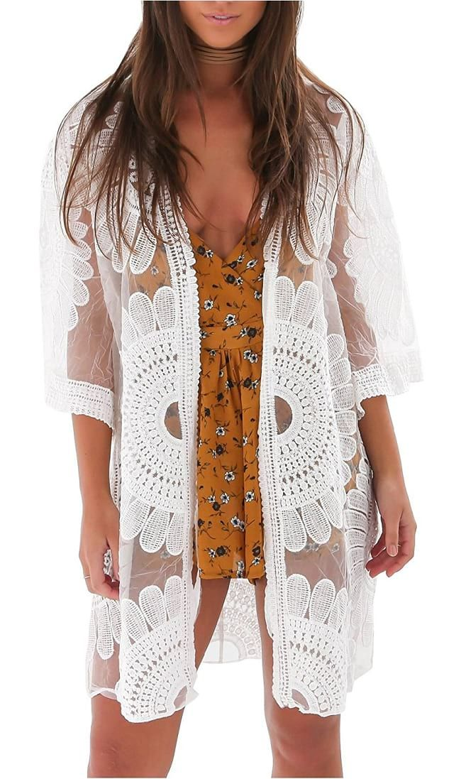 813fdbac4b Floral Crochet Cover-Up Cardigan
