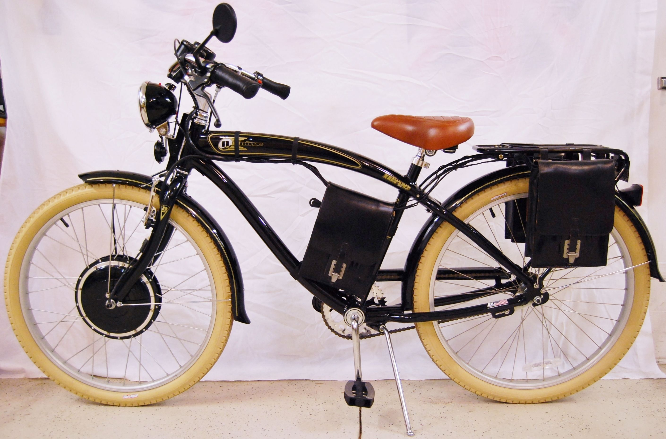 Modified Nirve Classic With 48 Volt 750 Watt Electric Motor Ebike Bike Bicycle