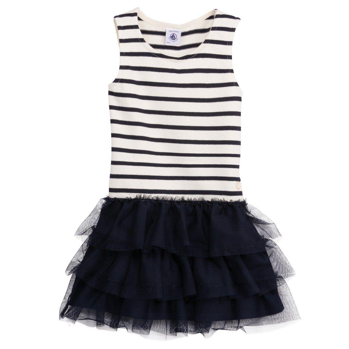 Petit Bateau Girls Skirt