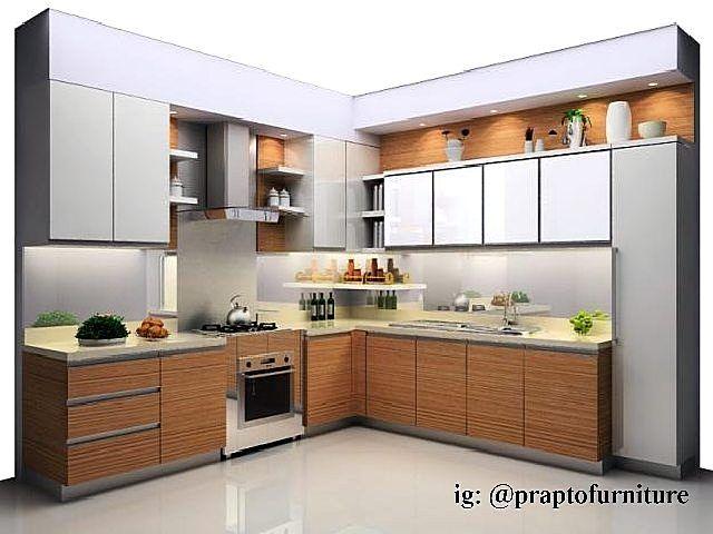 Gambar Kitchen Set Modern Rumah Dapur Ide Dapur