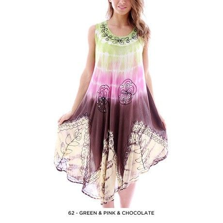 Tropical Summer Dress - Assorted Colors at 69% Savings off Retail!
