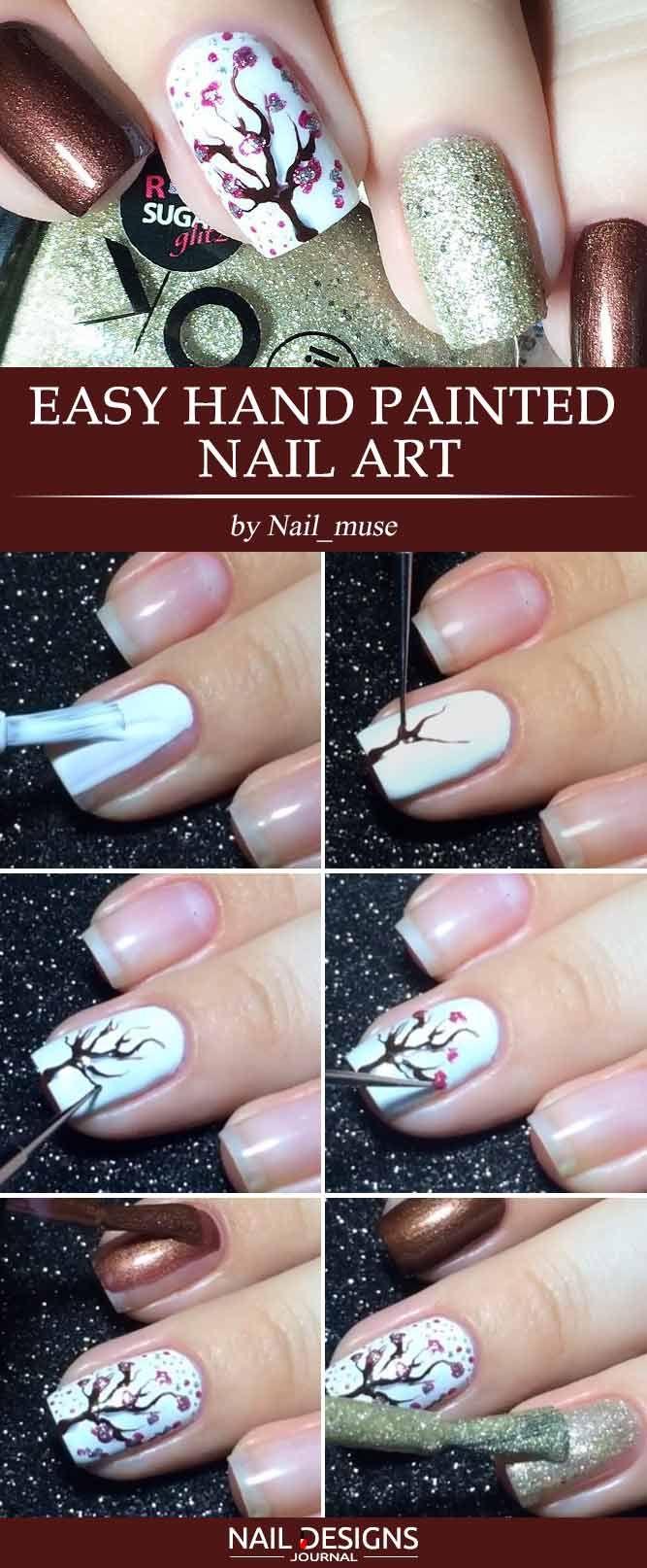 15 Super Easy Nail Designs DIY Tutorials - Nagels lakken, Nagel en ...