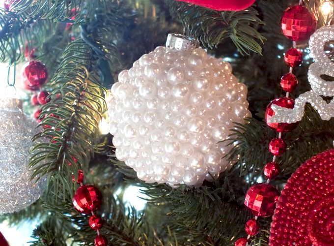 Pearl christmas tree ornaments unique christmas ornaments fun diy pearl christmas tree ornaments unique christmas ornamentsdiy solutioingenieria Gallery