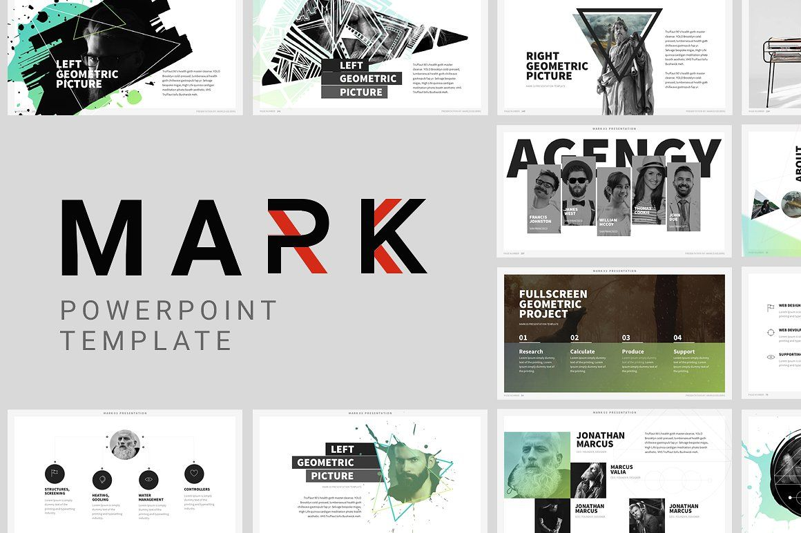 trending minimal powerpoint bundle by dublin design on