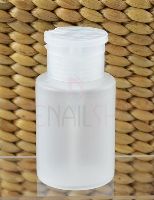 Empty Plastic Nail Polish Remover Dispenser Pump Bottle (185ml) - NEW