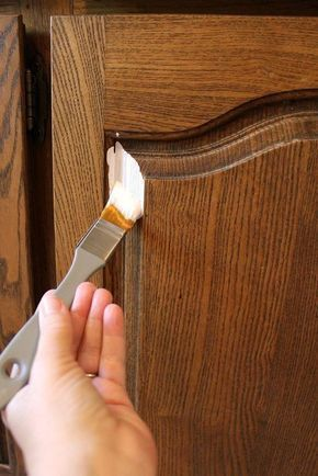DIY How to Paint Kitchen Cabinets without Sanding