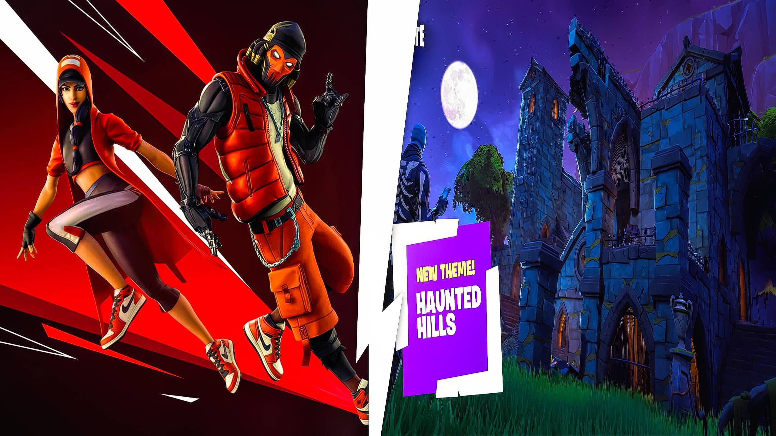 Fortnite X Jordan Ltm Haunted Hills Prefabs And Galleries Have Arrived In Patch V9 10 L2pbomb Fortnite Haunting Prefab