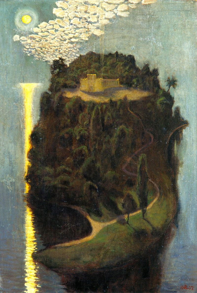 """""""The Island of the Blessed"""", Akseli Gallen-Kallela, 1902-1903"""