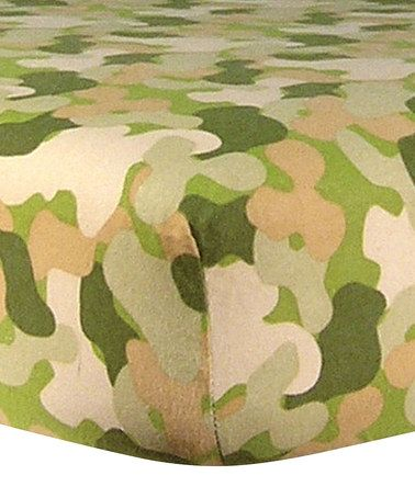 Loving This Camo Flannel Crib Sheet On Zulily
