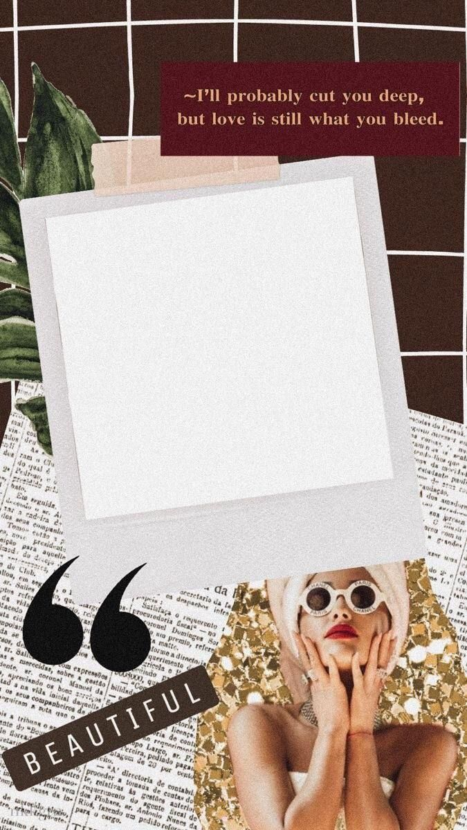 Pin By Vashlyn Fernandez On Inspo In 2020 Collage Template Instagram Frame Template Photo Collage Template