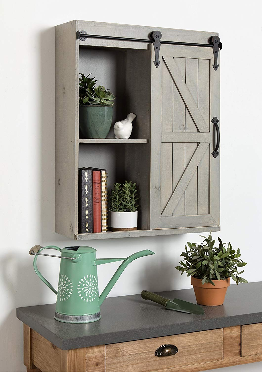 Kate and Laurel Cates Wood Wall Storage with