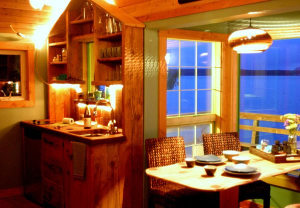 Orcas Island Cabin Rentals | Boathouse On Orcas Island Is A Cozy Vacation  Rentalu2026