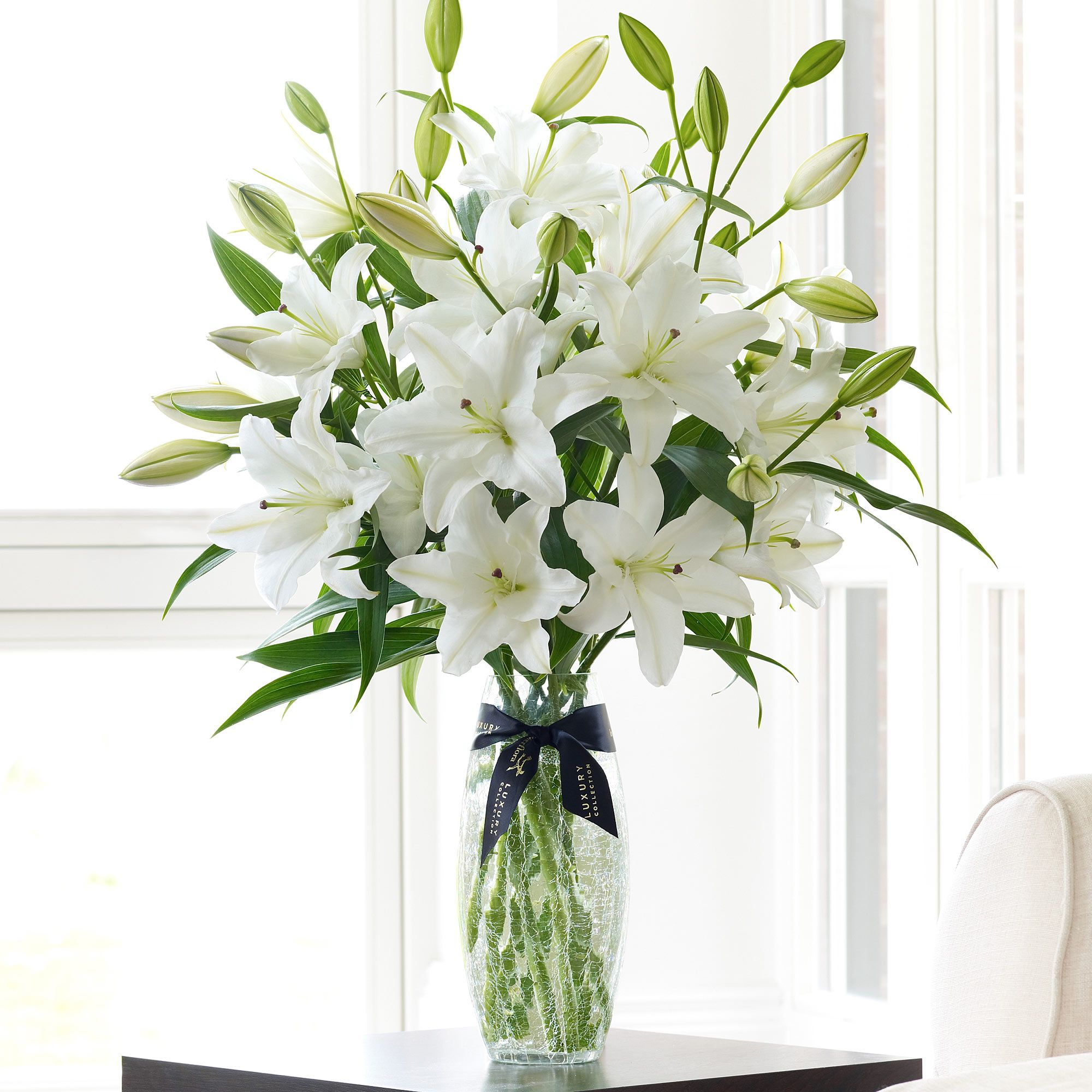 White Oriental Lilies For Something Different Flowers Pinterest