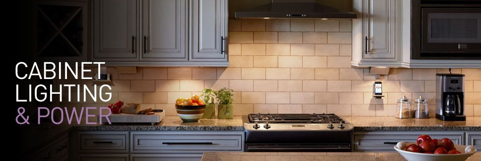 Legrand Under Cabinet Lighting System Prepossessing Undercabinet Lighting And Power  Cooking Light  Pinterest Design Ideas
