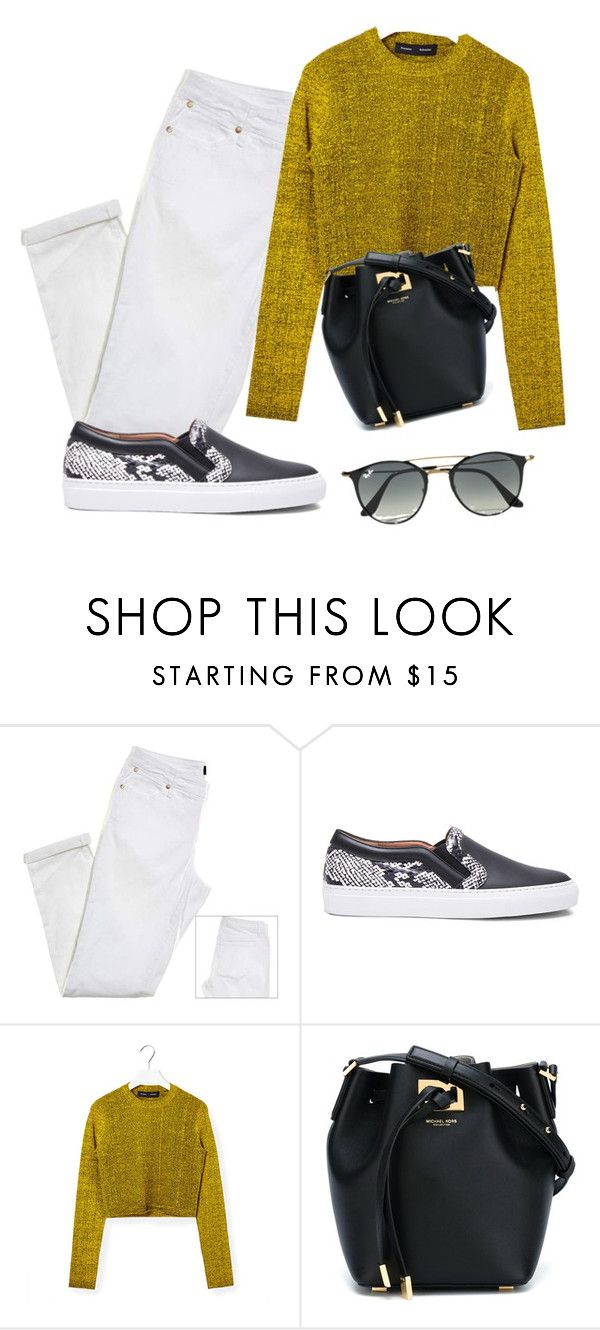 """""""Sin título #419"""" by marce-dlpm on Polyvore featuring moda, Givenchy, Proenza Schouler, Michael Kors y Ray-Ban"""