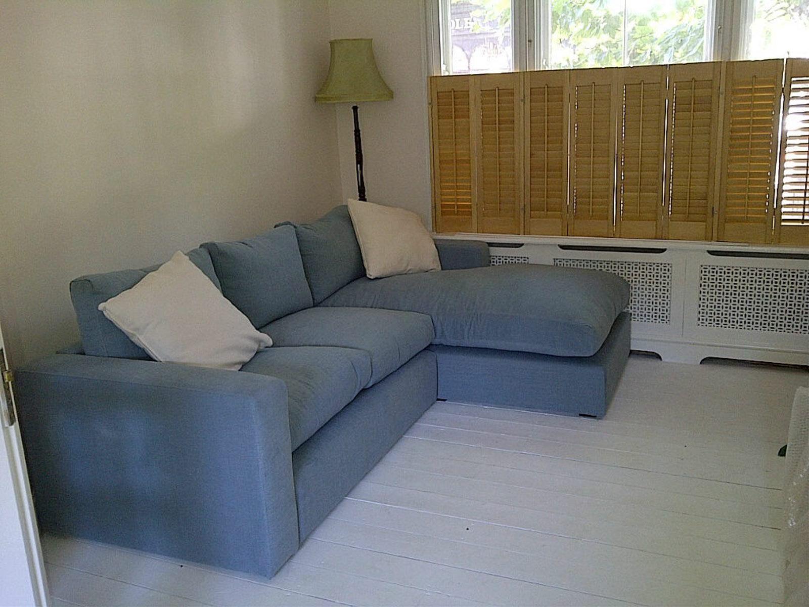 Stella Chaise In Brushed Linen Cotton Lagoon Http Www Sofa Com Shop Sofas Stella Corner 312 Blclag 0 0 Sofa Colors Corner Sofa Sofa