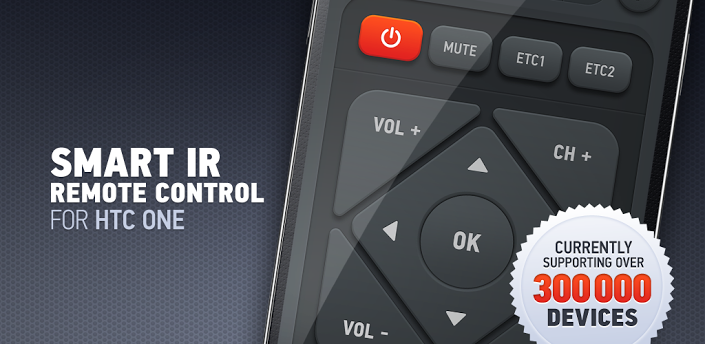 Universal Remote Control application for Samsung Galaxy S4