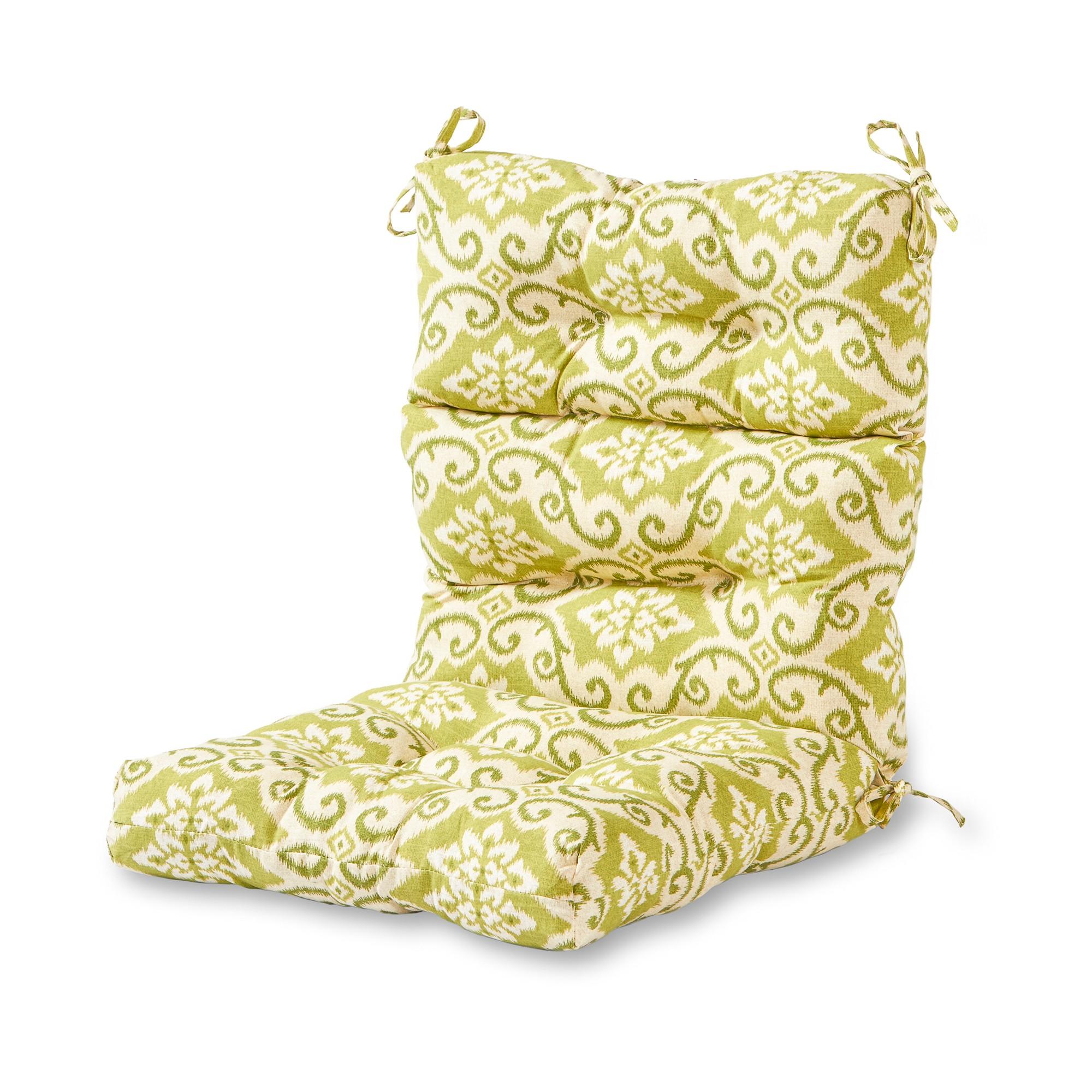 Outdoor High Back Chair Cushion Shoreham Greendale