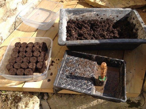 Fabriquer Un Presse Motte Motteuse Slydventure Jardinage En Serre Presse Jardin Naturel