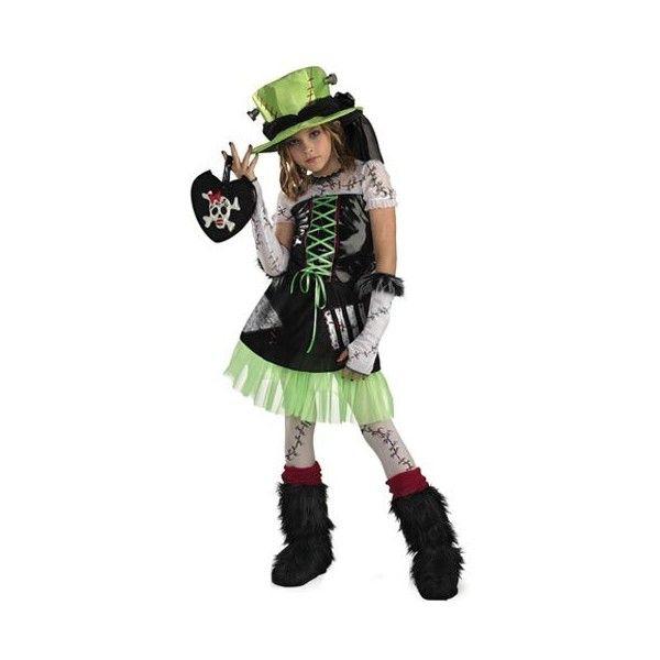 Kids Monster Bride Costume - Girls Bride of Frankenstein ...