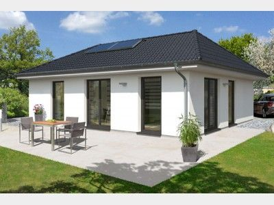 Charming Top Star 93   #Einfamilienhaus Von Hanlo Haus Vertriebsges. MbH | HausXXL # Fertighaus #Bungalow #modern #Walmdach | Bungalows | Pinterest | Bungalow,  ...