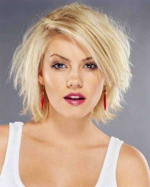 Tagli capelli corti femminili 2014 per viso tondo ...