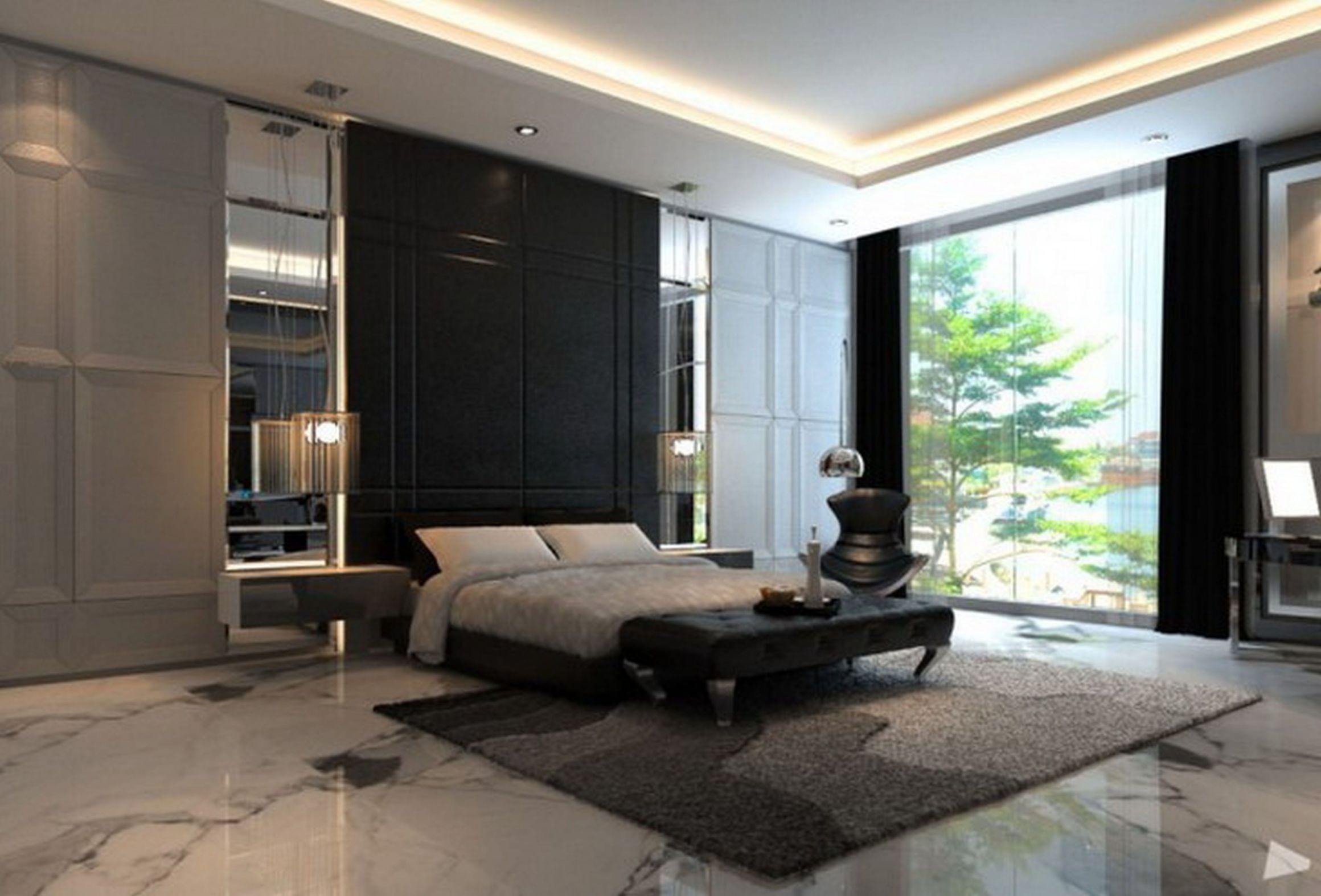 Wonderful Modern Master Bedroom Design Master Bedroom Interior