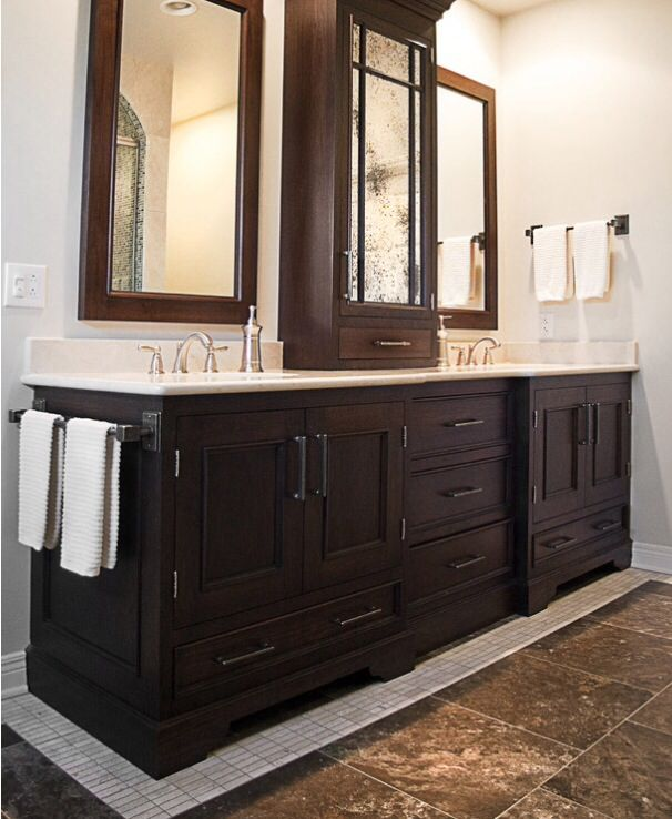 Best 25 double vanity ideas on pinterest bathroom double sink vanities master bath and - Master bath vanity design ideas ...