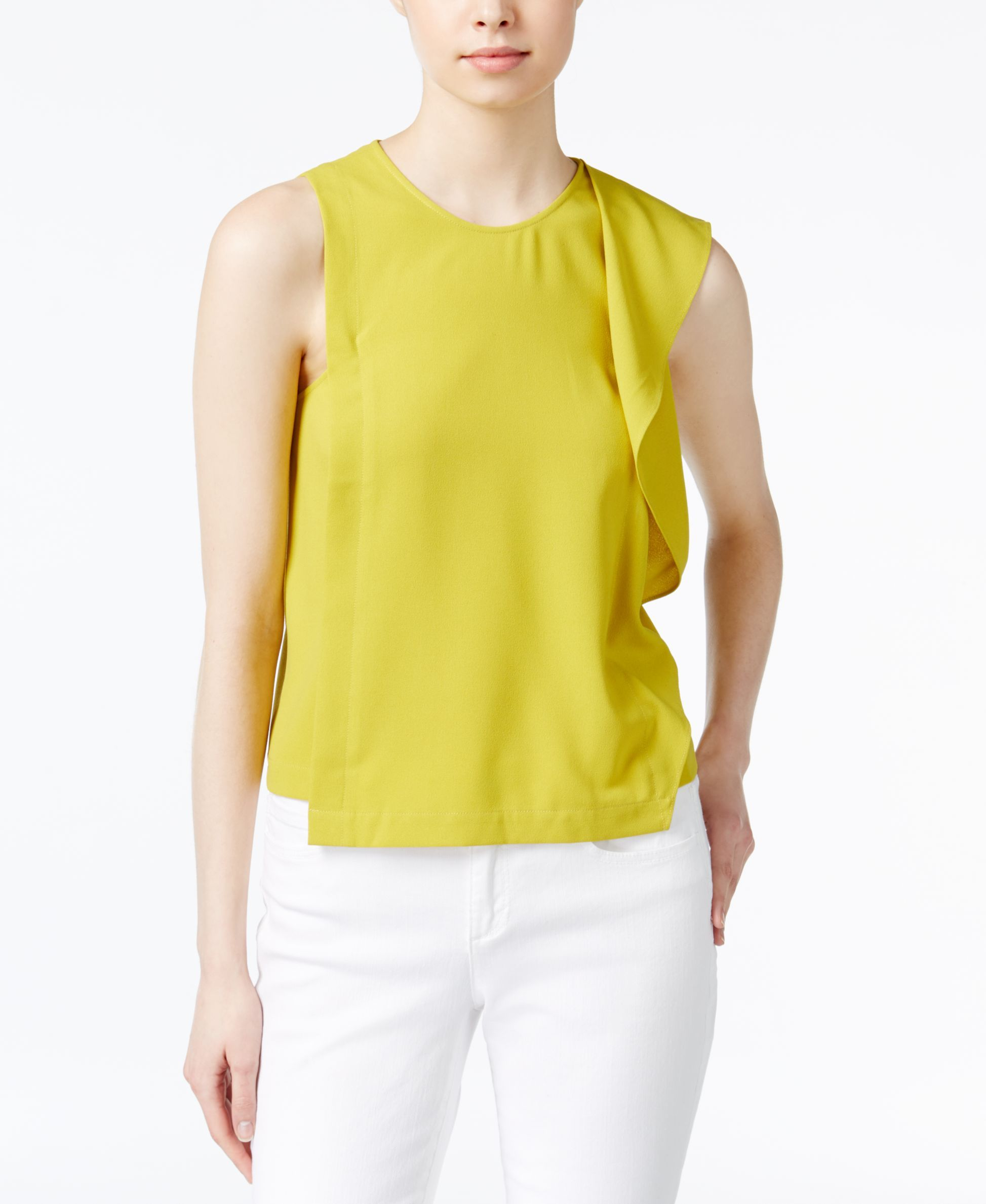 Rachel Rachel Roy Ruffled Blouse Only At Macy S Products Blouse