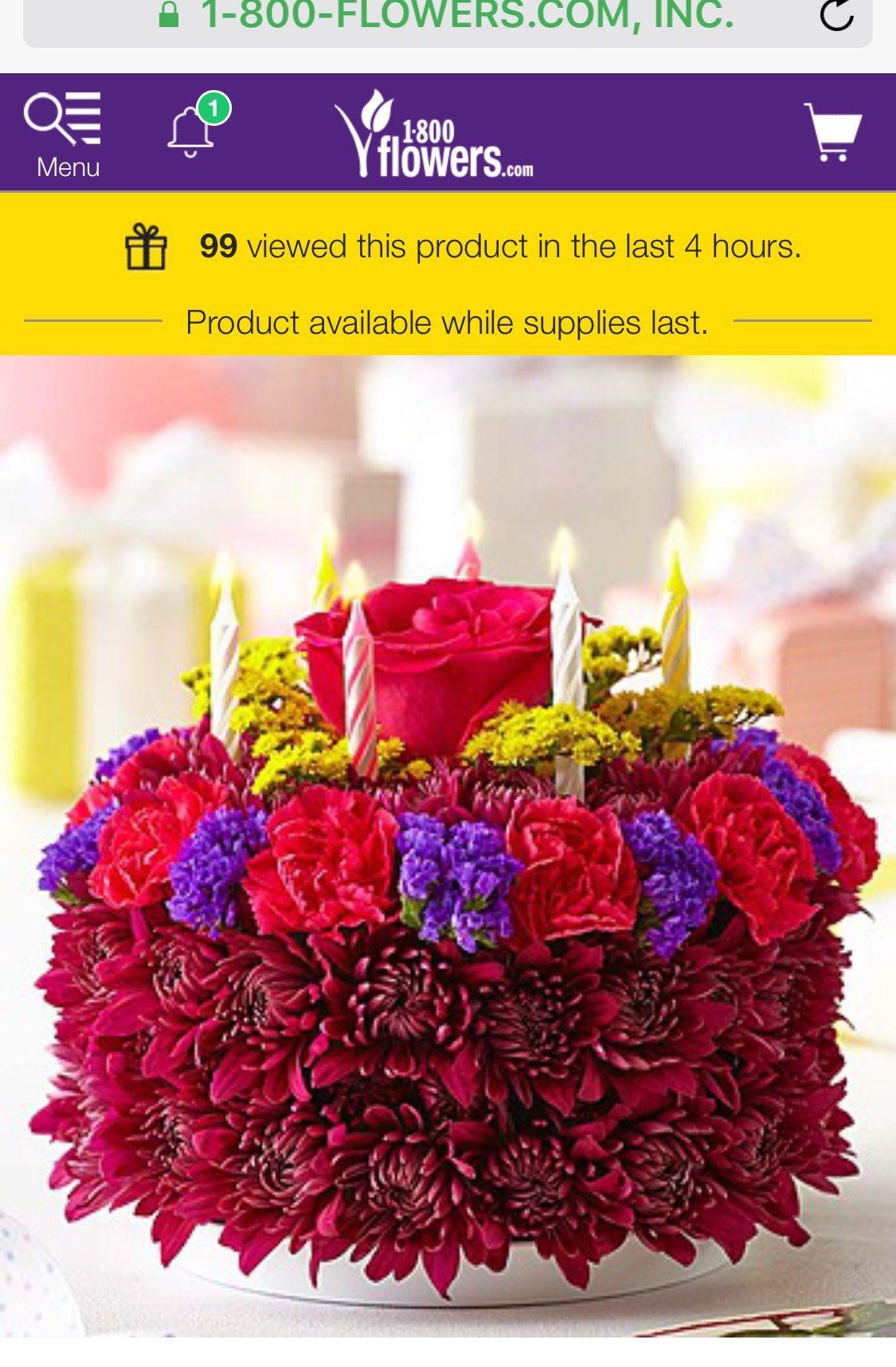 Purple Flower Birthday 🎂 Cake | PURPLE PURPLE ADDICTION | Pinterest ...