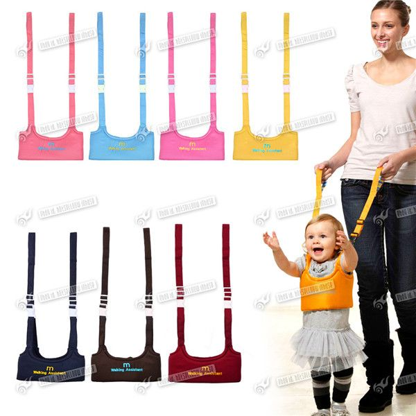 Baby Toddler Walking Assistant Learning Walk Safety Reins Harness walker Wings Baby Blue