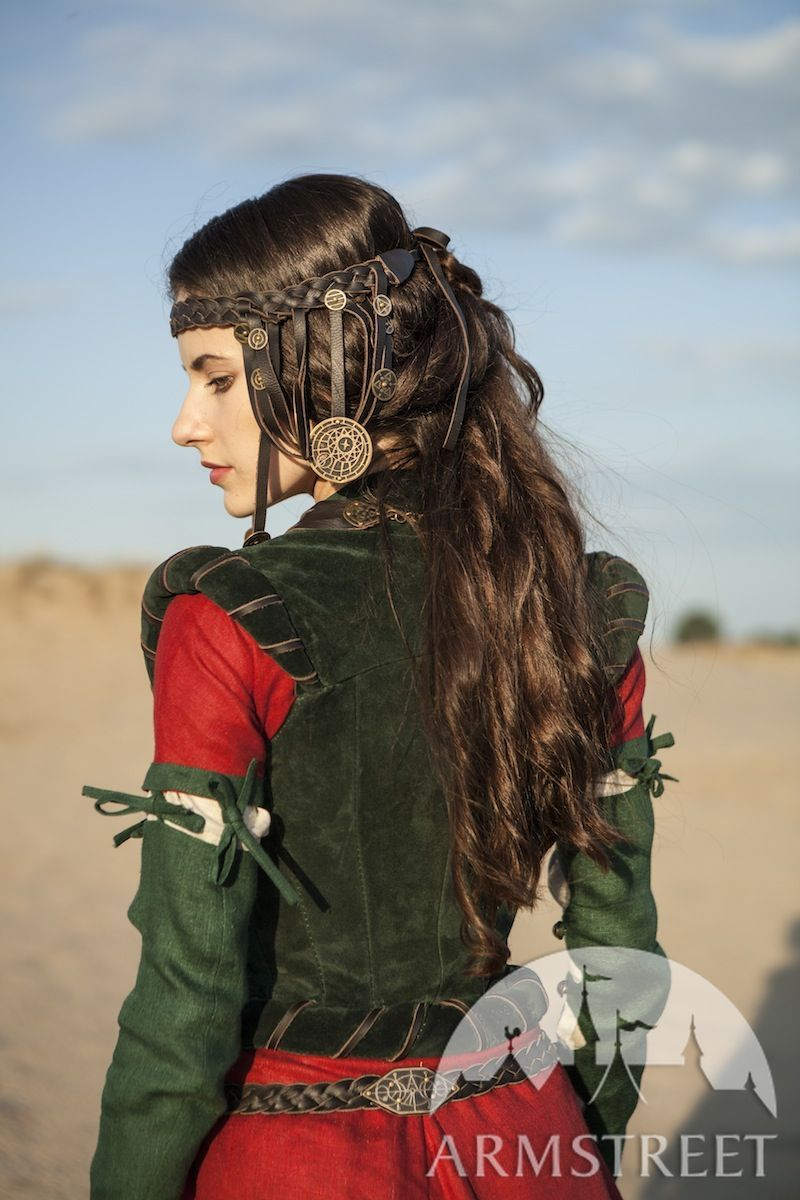 Exclusive renaissance and fantasy medieval costume corset