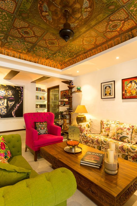 Ceiling With Images Indian Home Interior Indian Home Design