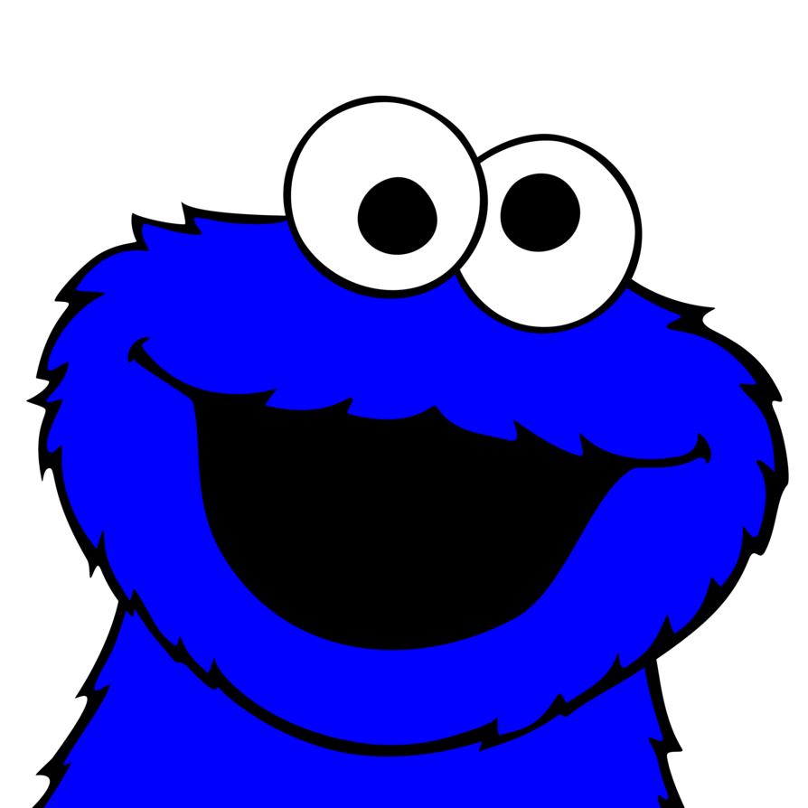 cookie monster pictures cookie monster vector by plzexplode on deviantart - Cookie Monster Face Coloring Pages