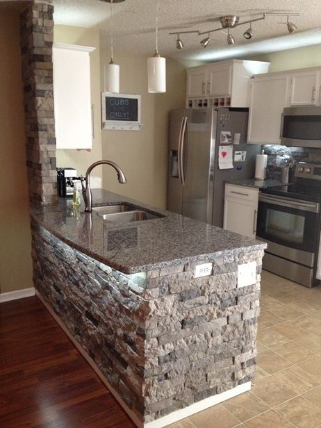 kitchen stone industrial shelving airstone spring creek this stuff sounds amazing it weights much less then real and is supposed to be very easy install would look great in my future home