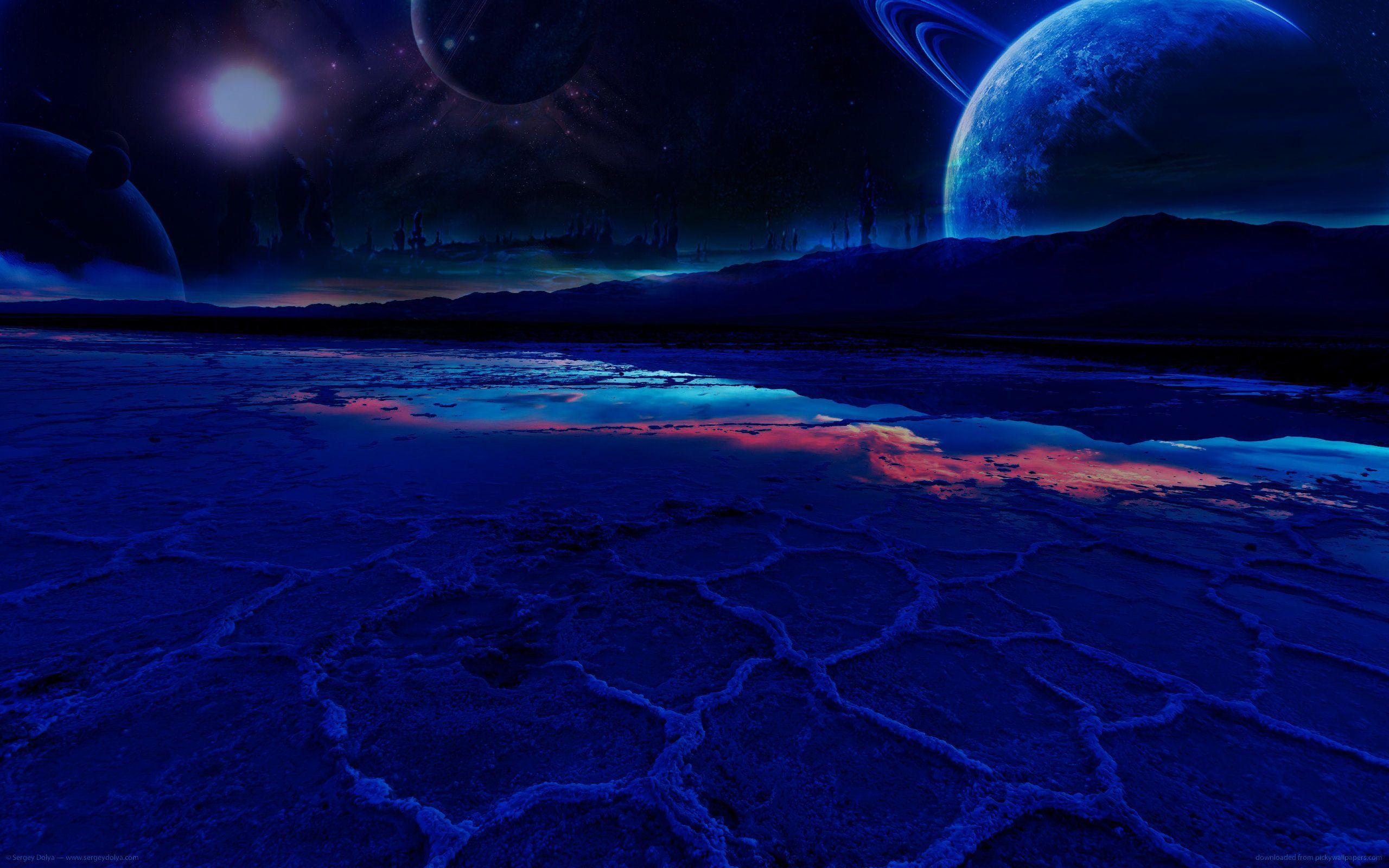 Fantasy wasteland sci fi Landscapes Alpha Coders