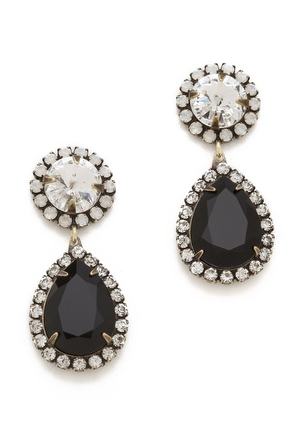 pretty #black jewel drop earrings http://rstyle.me/n/jkxmhr9te