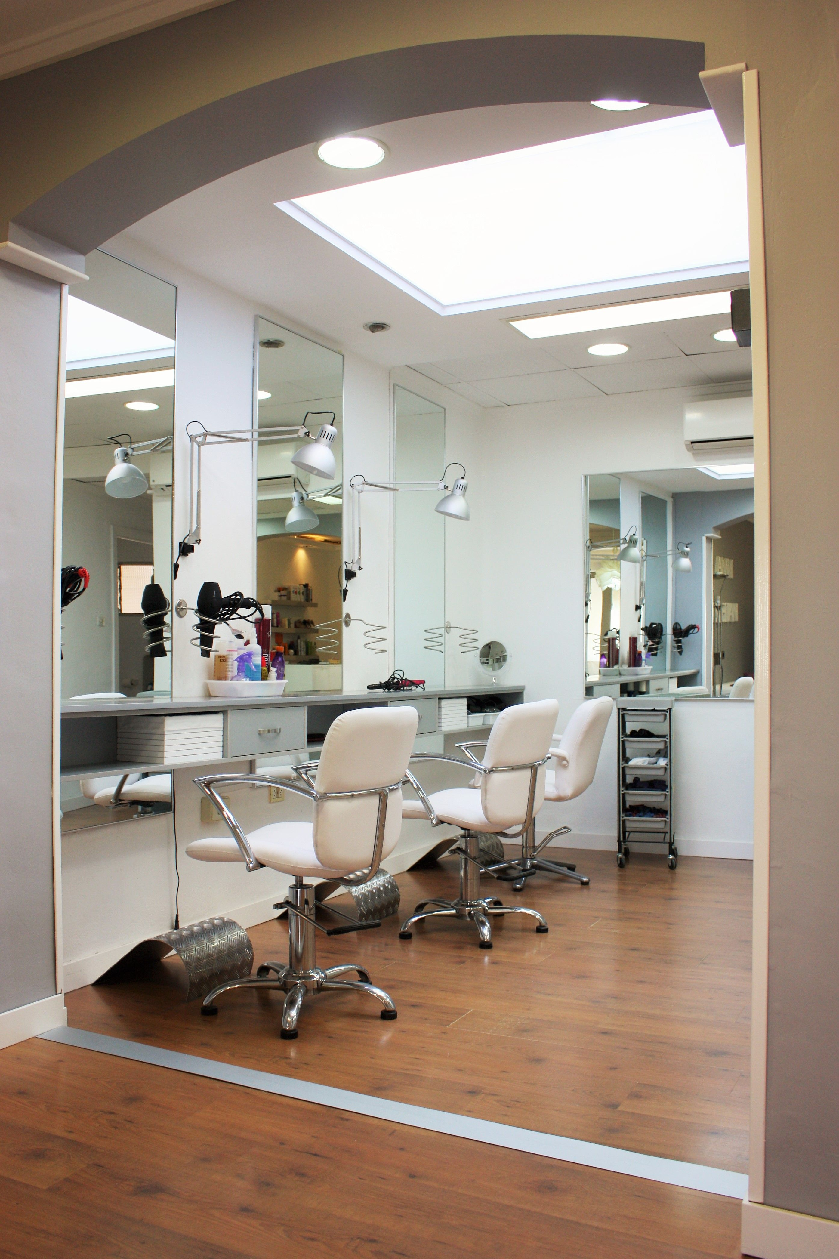 Finally we show you the images of the new hair salon of ...