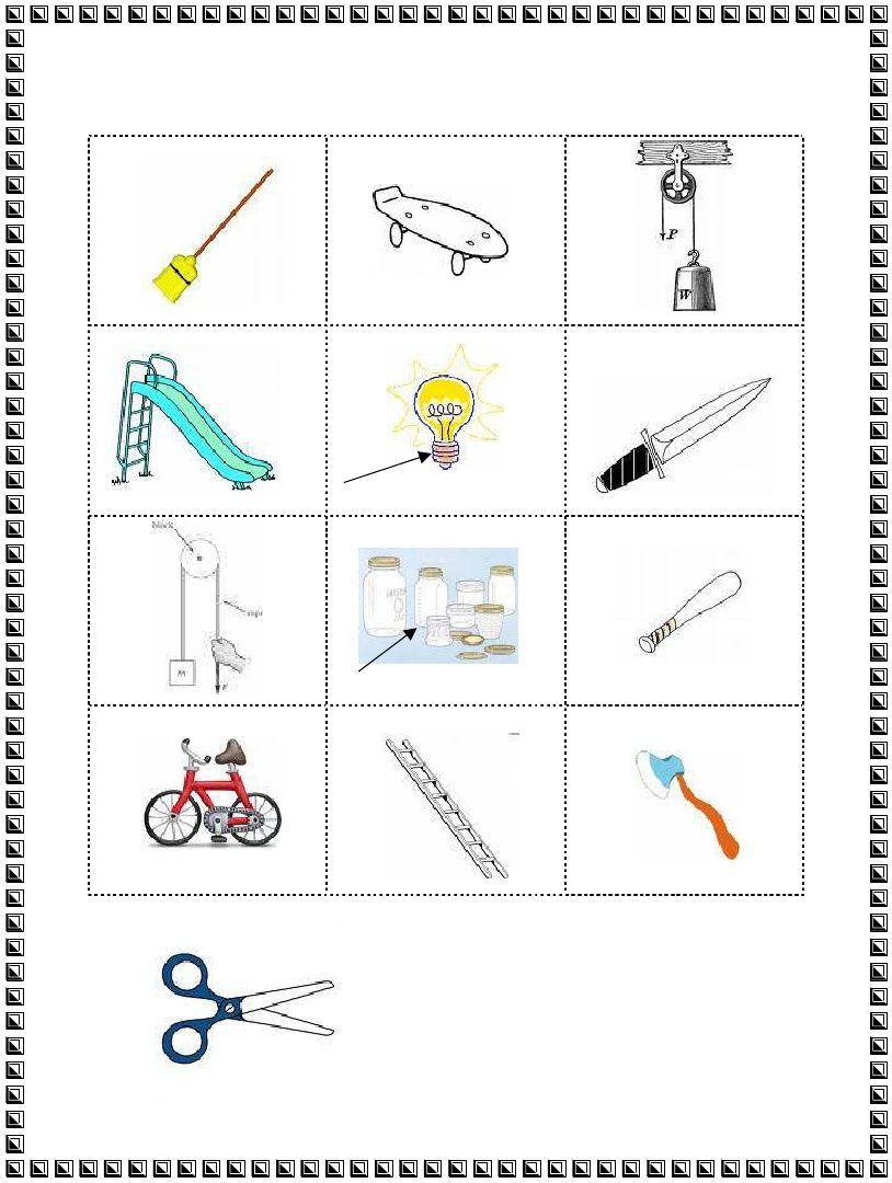 3rd Grade   Simple Machines Worksheet   Simple machines [ 1080 x 814 Pixel ]