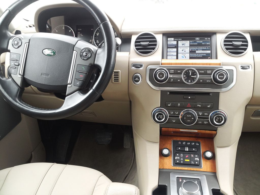 Land Rover Discovery 4 Interior Discovery 4 Land Rover Discovery Land Rover