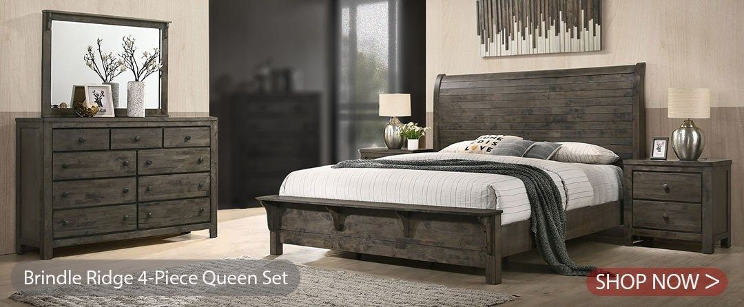 Bed Room Furniture Images Decent Brindle Ridge Bedroom Collection
