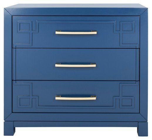 Capello Dresser Blue 56500 decor Glam