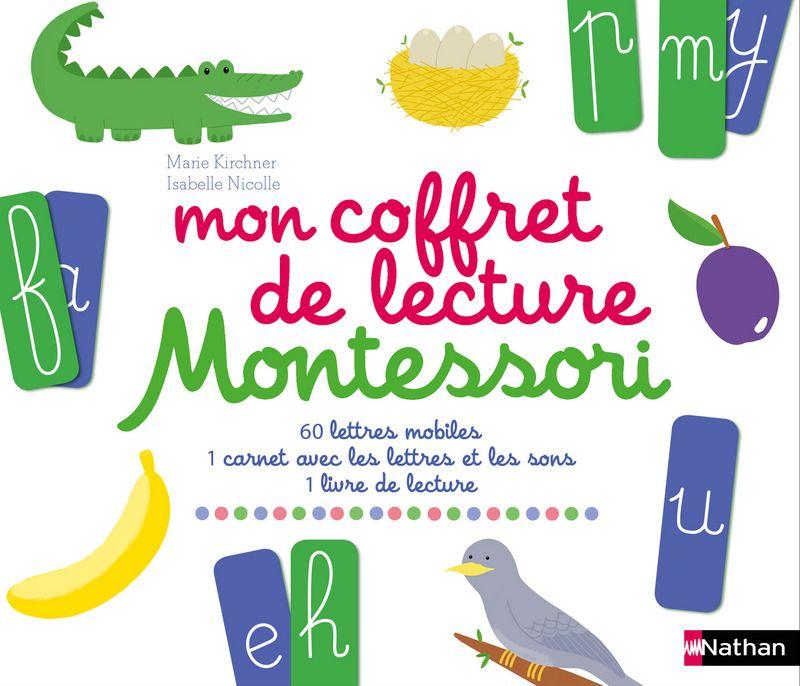 Mon Coffret De Lecture Montessori Montessori Montessori Lecture Livre