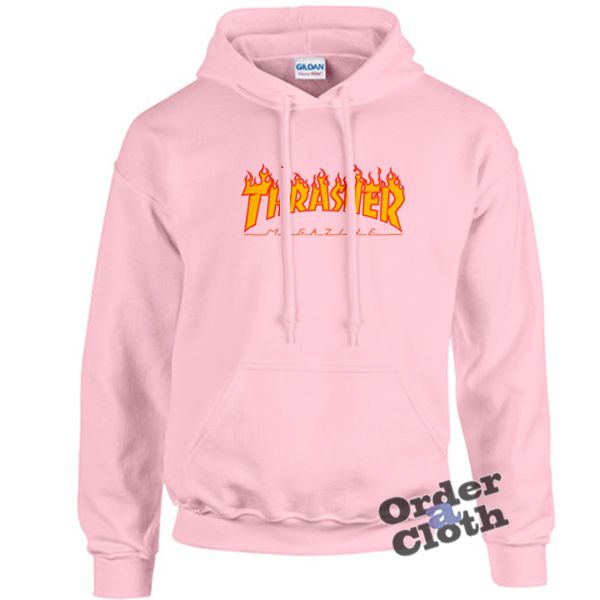 9b98c405d Pink thrasher flame hoodie. Pink thrasher flame hoodie Japanese Hoodie, Schrute  Farms Beets ...