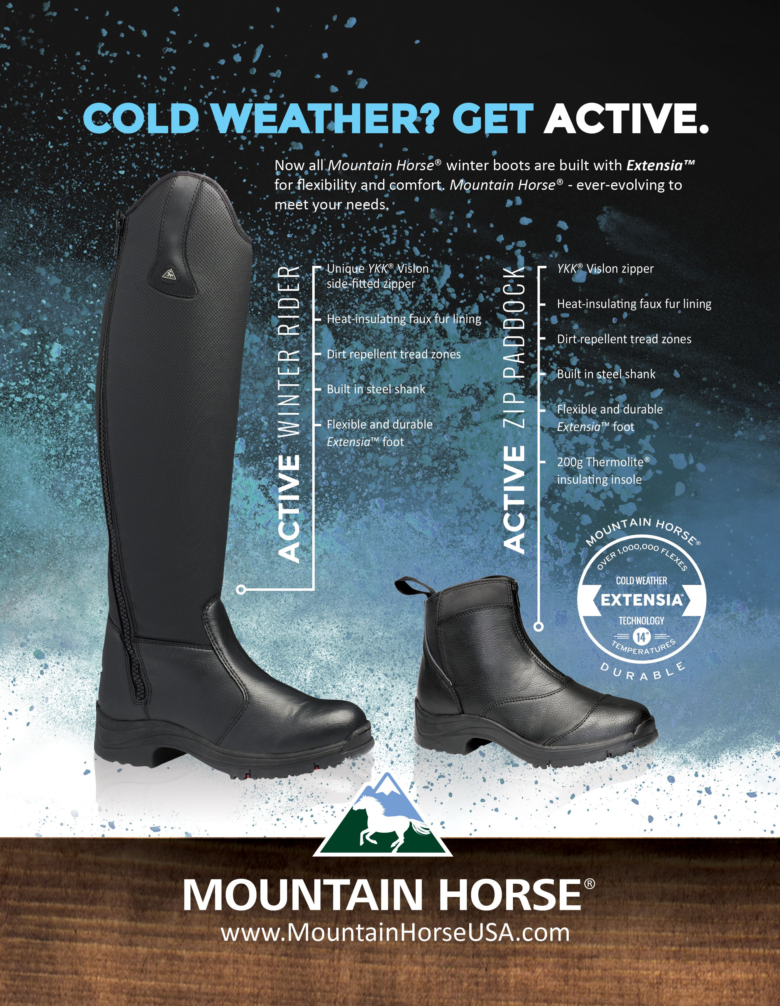 latest sale to buy fashionablestyle Mountain Horse® Active Winter Boots | Equine Obcession ...