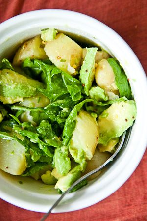avocadopotatosalad