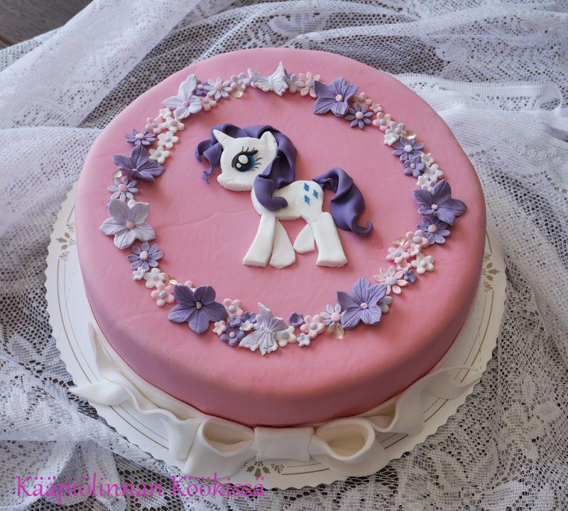 Nuorten Neitokaisten Synttarikakut Rarity Super Mario Odyssey Cappy Little Pony Cake Pony Cake Cake